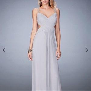 Le Femme Silver Gown; So Flattering 💕